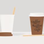 Маленькие одноразовые бумажные стаканчики 110 мл под чай