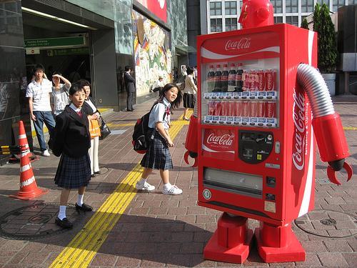 Торговый автомат робот
