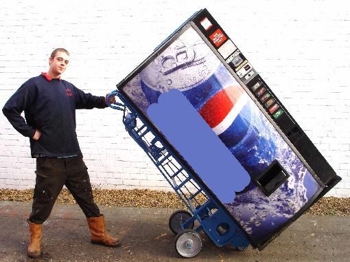 Перевозка торгового автомата