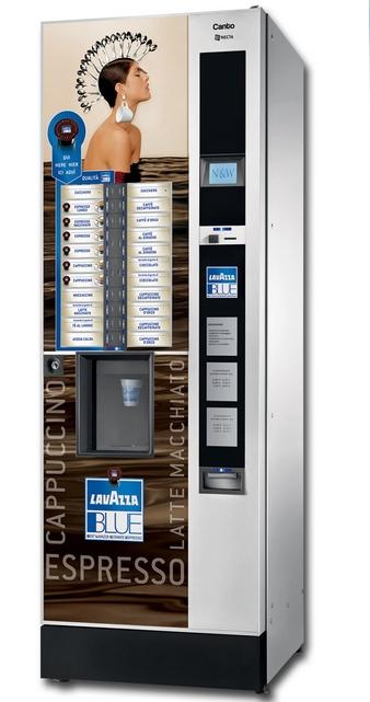 Капсульный торговый автомат с кофе Necta Canto LB