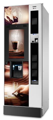 Торговый автомат с сенсорным экраном Necta Canto Touch