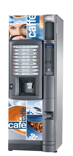 Торговый автомат по продаже кофе Necta Kikko ES6