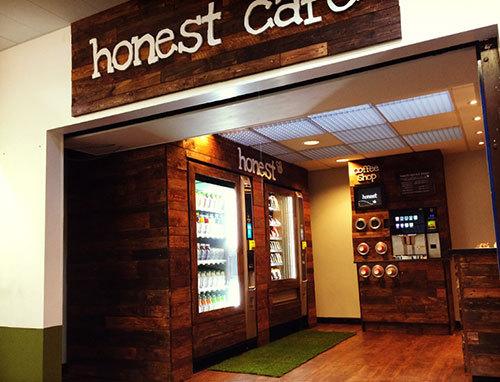 Вендинг-кафе Honest Cafe