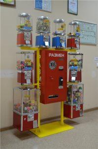 Разменник на механических автоматах