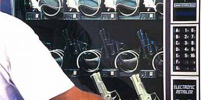 Торговый автомат продает оружие