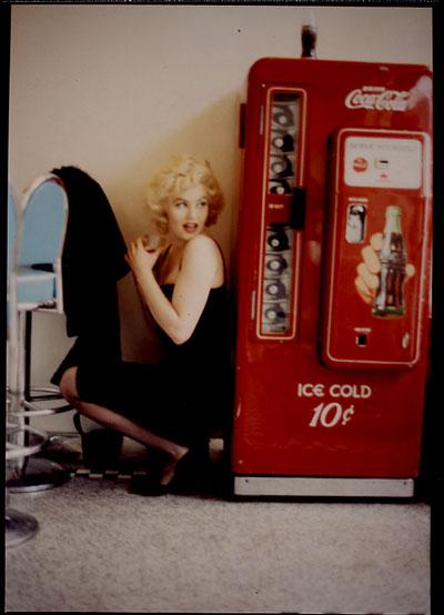 Мэрилин Монро и торговый автомат